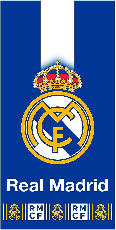 TDI RM182002-R Roman Real Madrid - Toalla de baño (70 x 140 cm): Amazon.es: Hogar