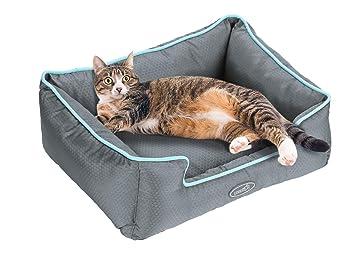 Pecute Cama de Perros y Gatos Alfombra para Mascotas Tela Impermeable Desmontable y Extraíble (S:49 * 44cm): Amazon.es: Productos para mascotas