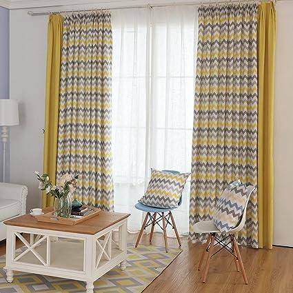 Geometrico modello cortina stile nordico Tende panno Tende ...