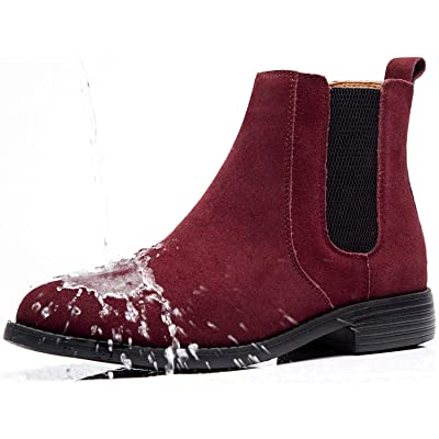 Men Ankle Dress Chelsea Boots Slip On Zipper Lace Up Leather High Shoes Boot Top