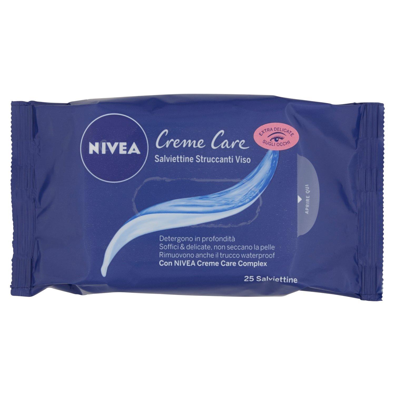 Nivea Face Care Crema Salviettine Struccanti - 25 Pezzi Beiersdorf Italy 89232