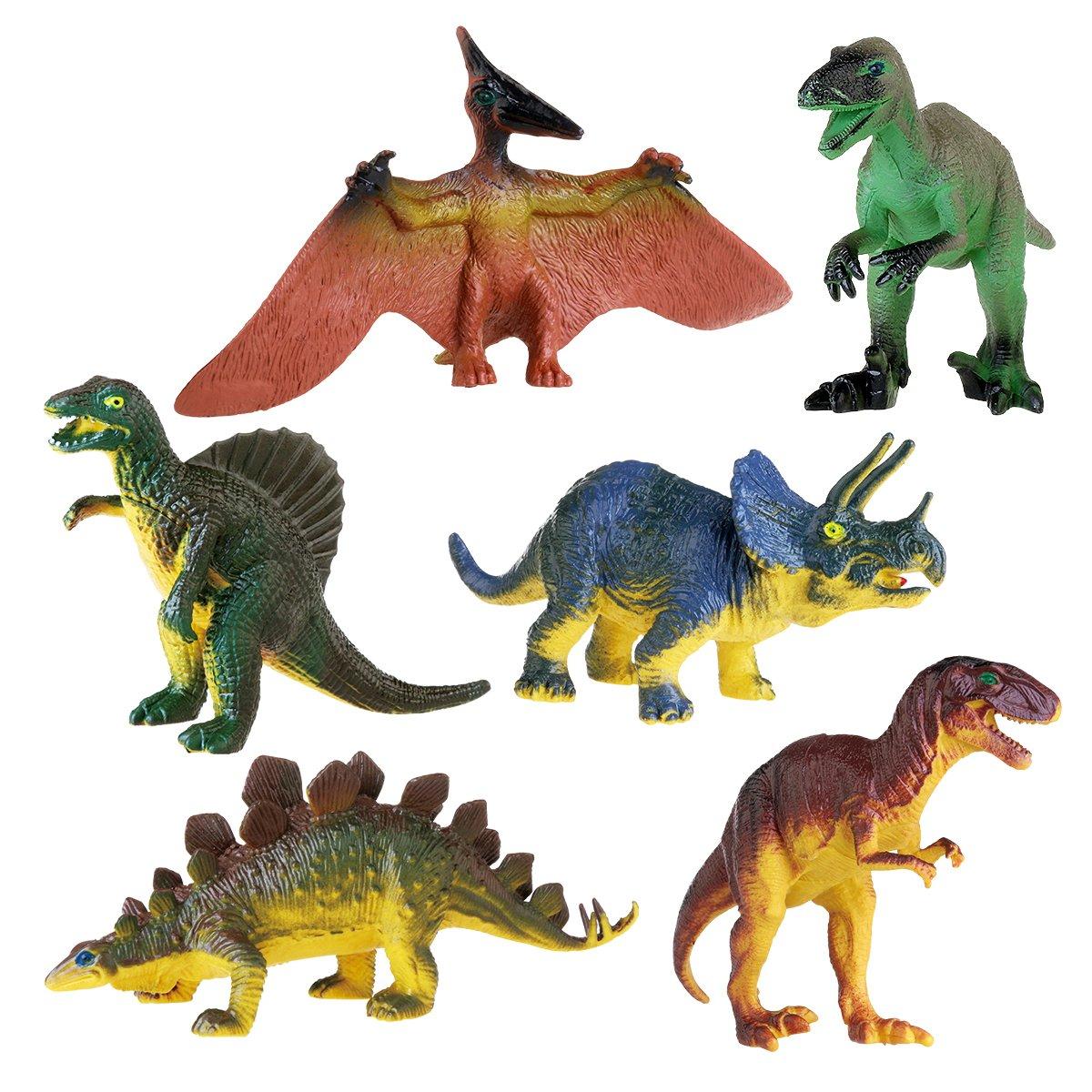 Dinosaur Toys For Toddlers : Nuolux dinosaur toy for kids tyrannosaurus stegosaurus
