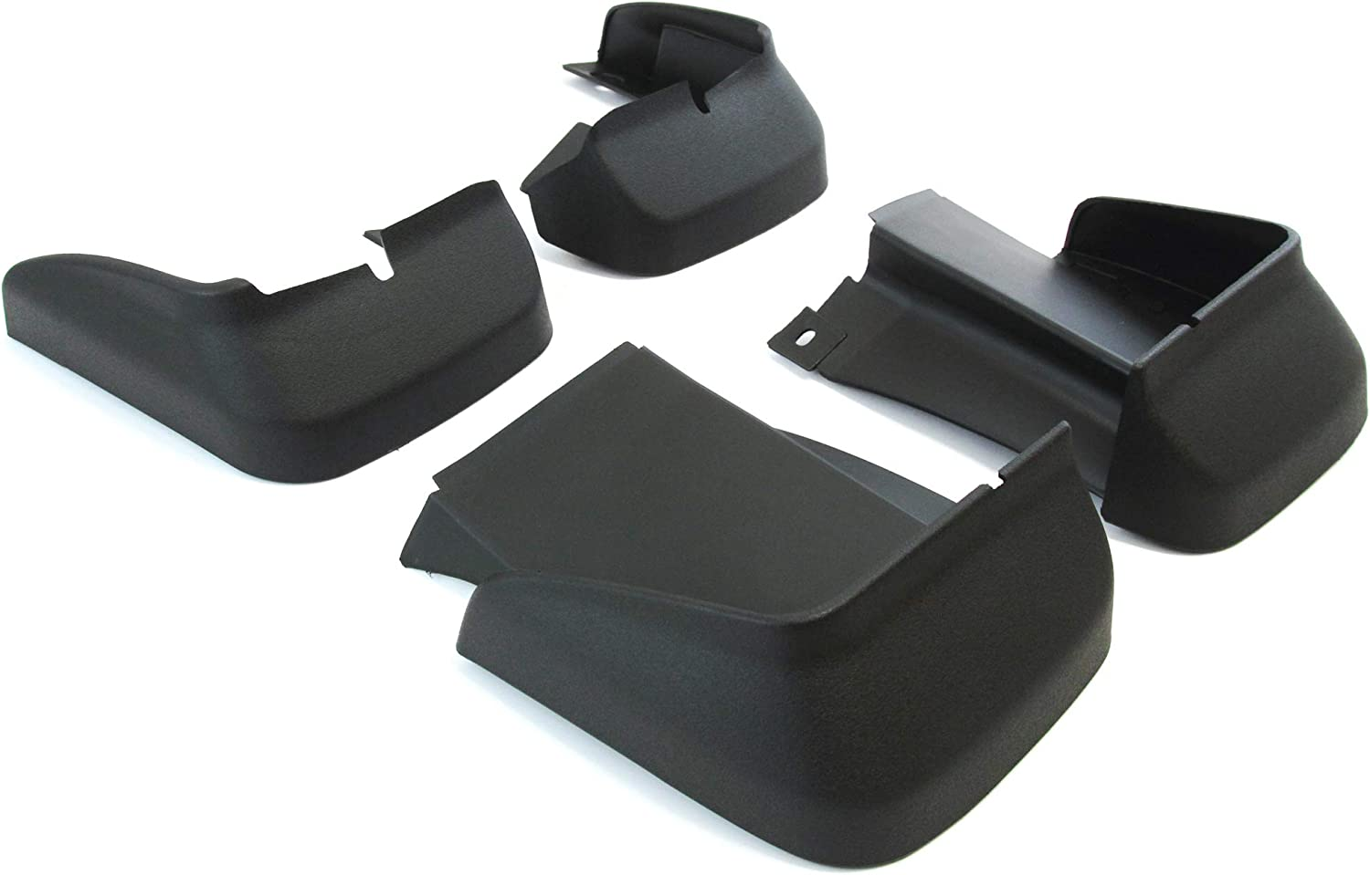 Will not fit 2-Door Coupe or Si Models Red Hound Auto Compatible with Honda 2006-2011 Civic 4-Door Sedan Mud Flaps Splash Guards Front and Rear Molded 4pc Full Set