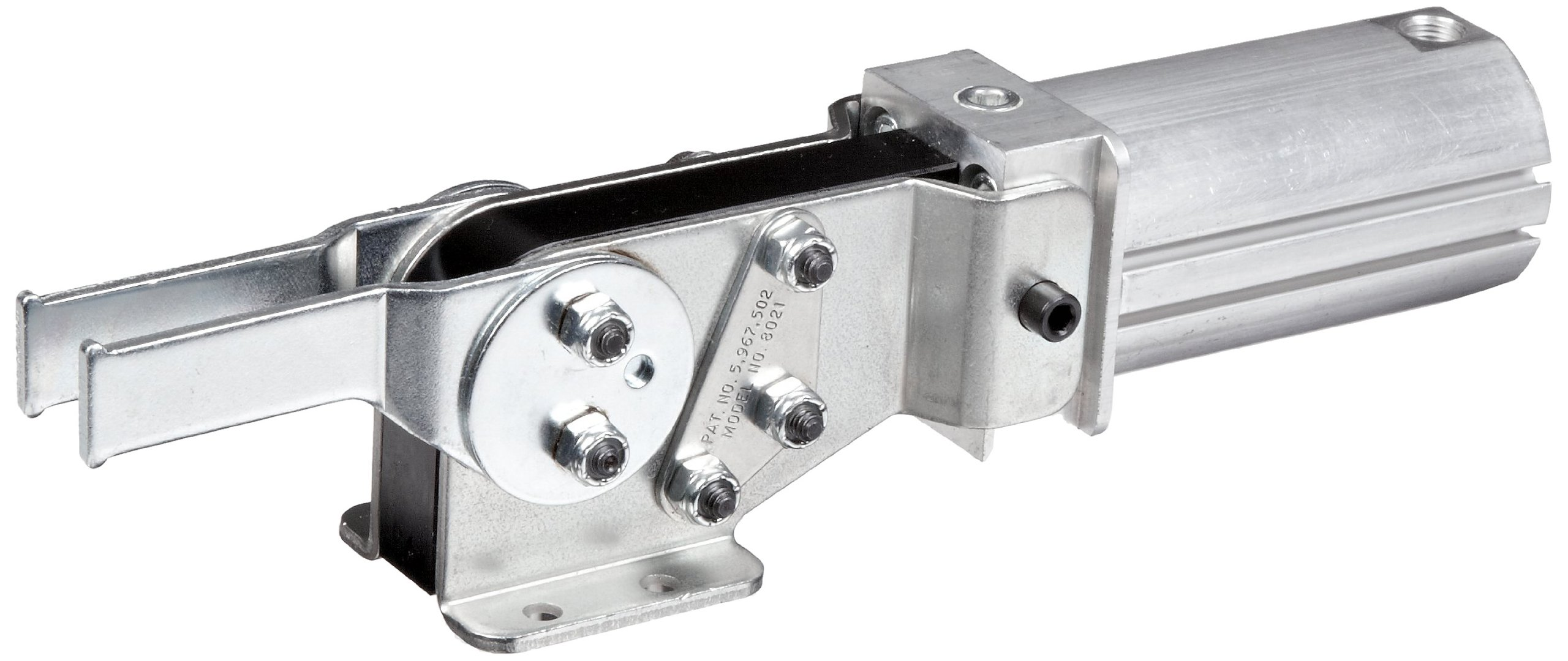 DE-STA-CO 8021 Enclosed Pneumatic Hold Down Action Clamp by De-Sta-Co