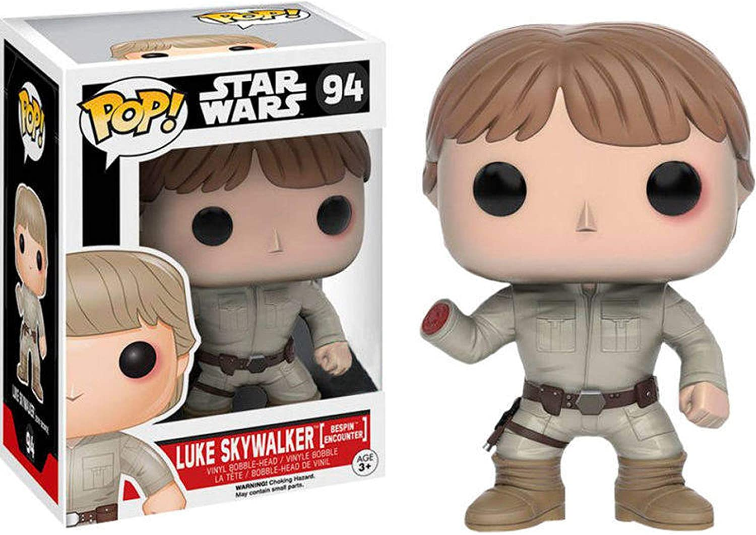 Star Wars Luke Skywalker Bespin encuentro celebración vinilo Funko exclusivo POP!