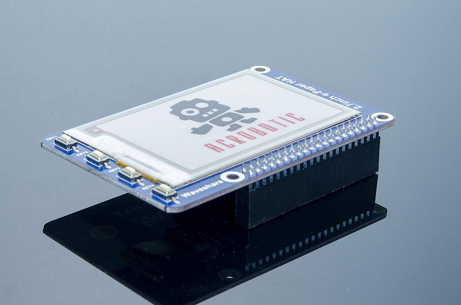 ACROBOTIC e-Paper e-Ink 2.7 264x176 Three-Color Display HAT for Raspberry Pi ePaper eInk EPD