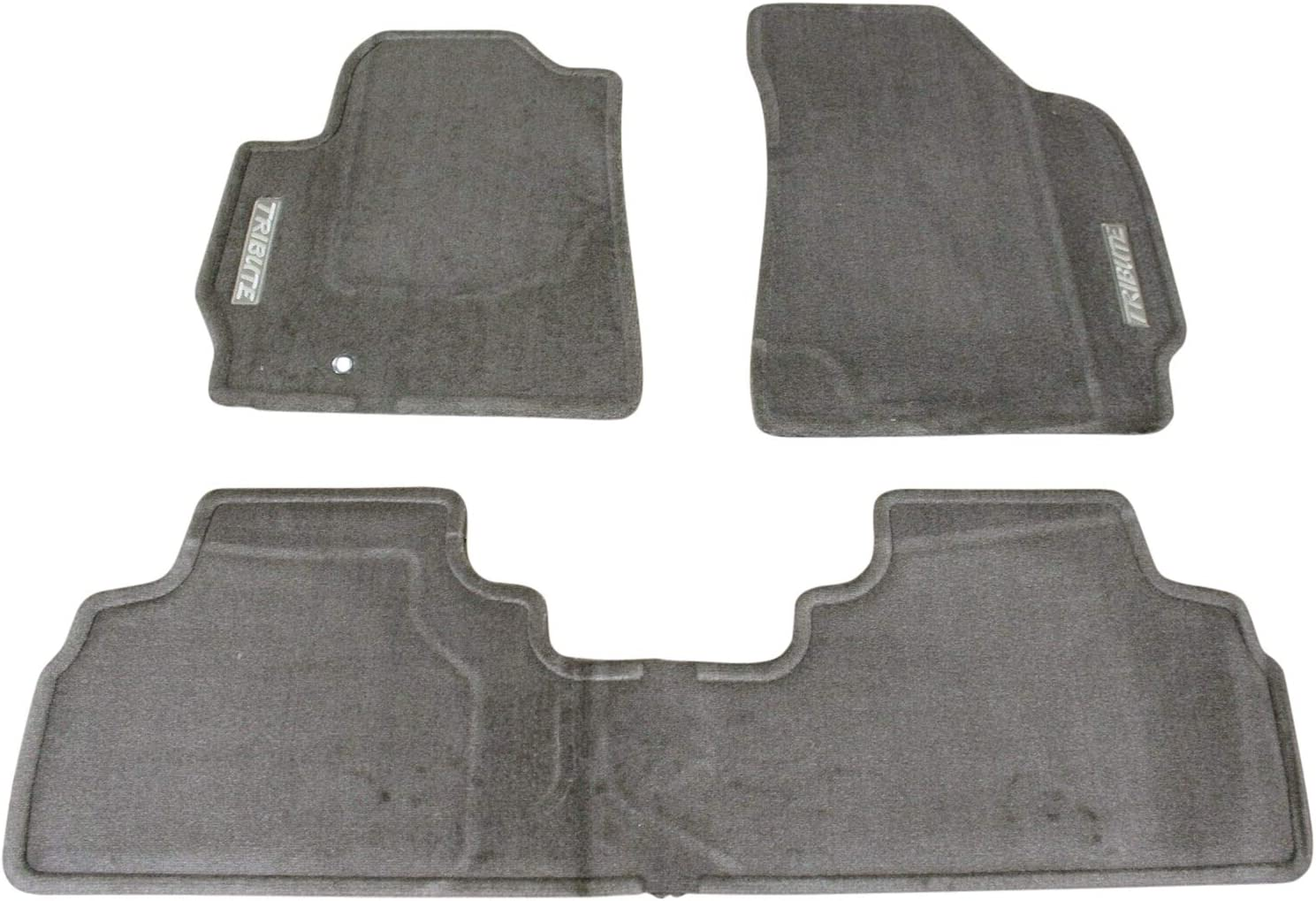 High Quality Car Floor Mats Set In Black//Blue To Fit Mazda 3 2009-2013