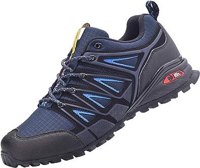 Zapatillas de Deportes Hombre Mujer Running Zapatos para Correr Calzado Deportivos Aire Libre Ligero Gimnasio Sneakers: Amazon.es: Zapatos y complementos