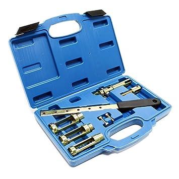 Druckluft Ventilfederspanner Ventilschaftdichtung wechseln Montage Werkzeug Set