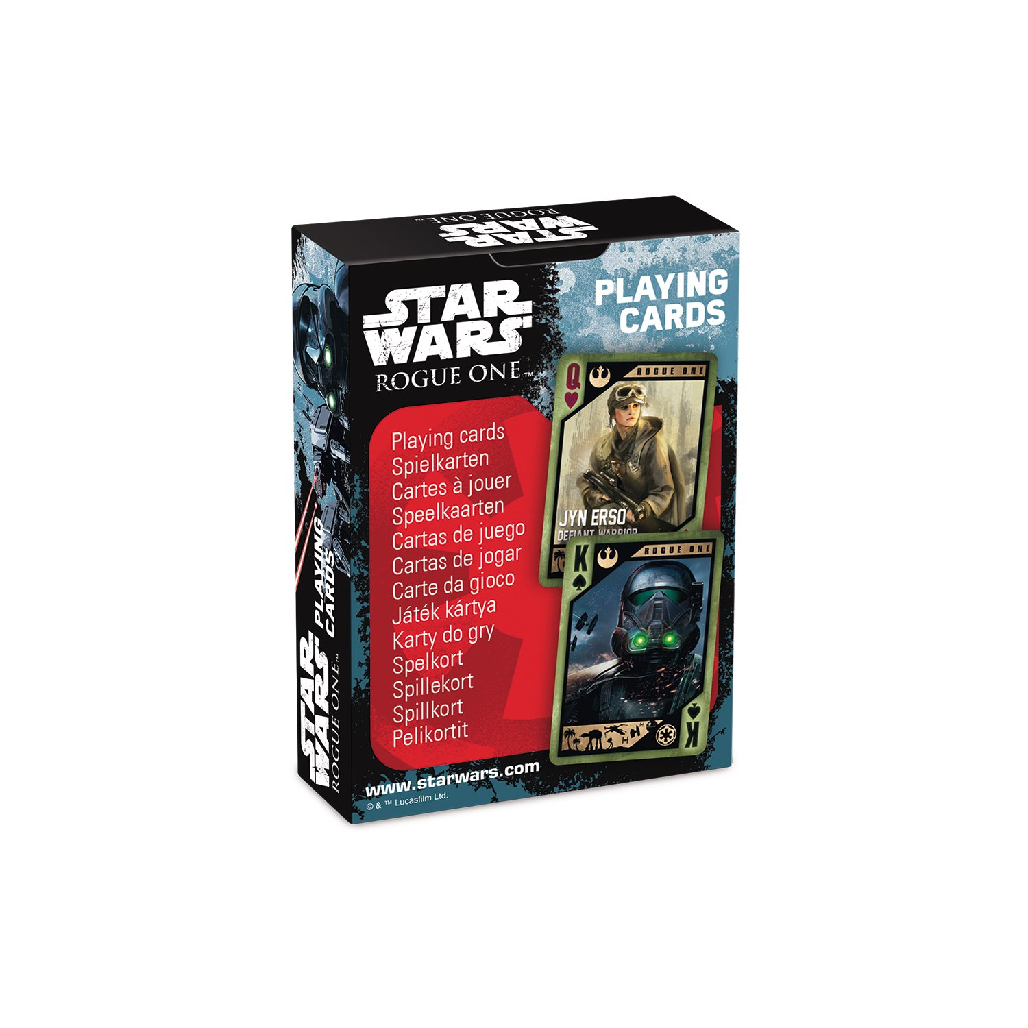 Amazon.com: Star Wars - Rogue One Playing Cards: Home & Kitchen