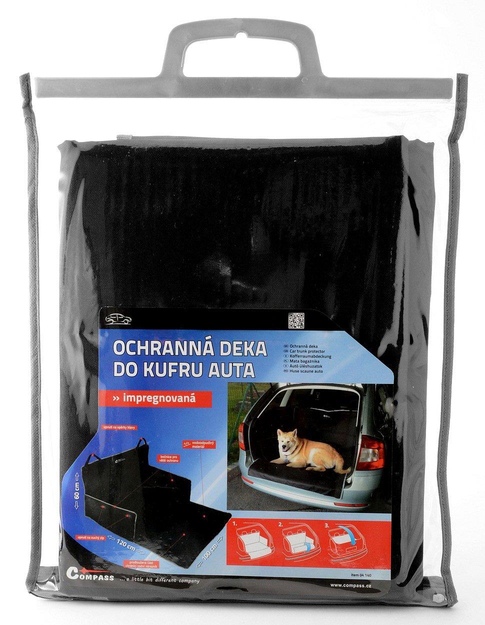 Hundedecke in den Auto Compass 04140 Kofferraumschutz Hunde