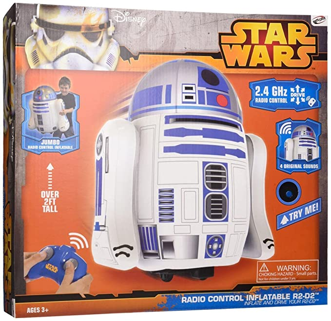 Bladez - Star Wars Droide R2-D2 Hinchable RC sin Sonido: Amazon.es ...