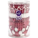 Wilton 415-5936 150 Count Christmas Baking Cups, Mini