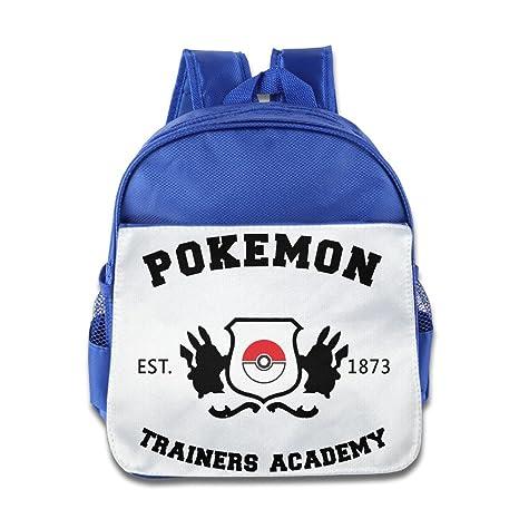 Pokemon Trainers Academia niño moda mochila bolso de escuela: Amazon.es: Electrónica