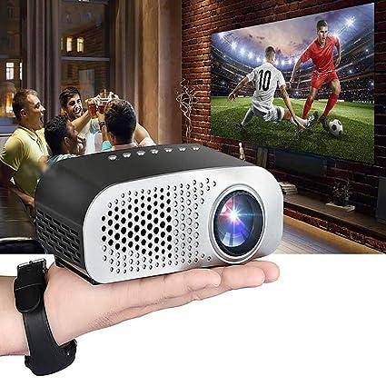 0a07da337afeee Amazon.com: MUDEREK GP8S Mini Portable Projector Android Home Smart Cinema  Theater LED Projector Video Projectors: Electronics