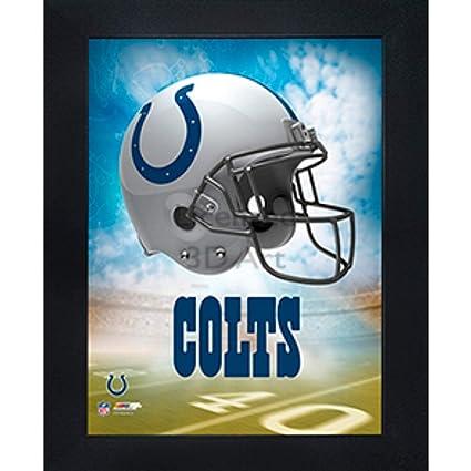 Amazon.com  Indianapolis Colts 3D Poster Wall Art Decor Framed Print ... e65dca845
