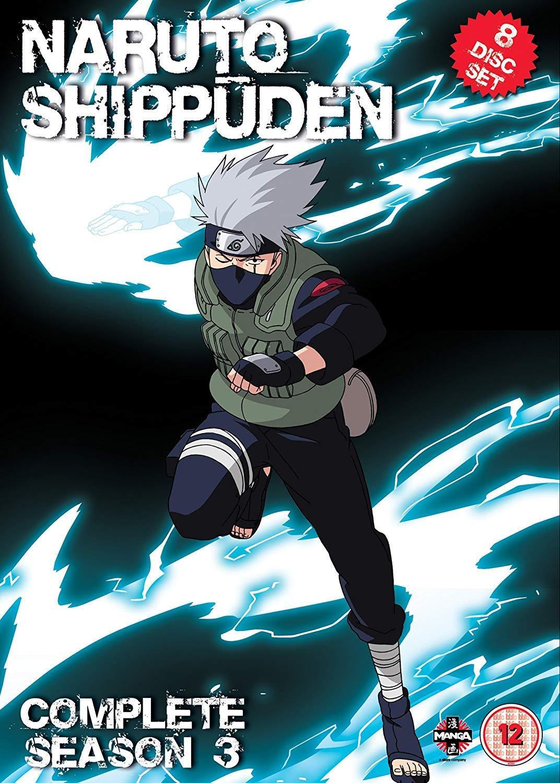 Naruto Shippuden Complete Series 3 Box Set Episodes 101-153 ...