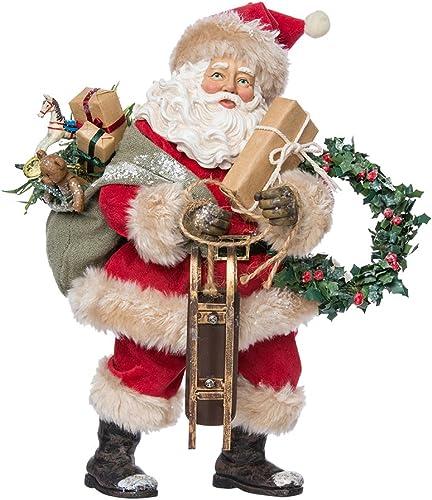 Kurt Adler 11.75-Inch Vintage Santa