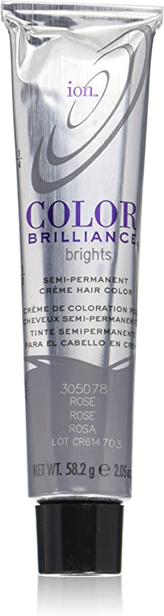 Ion Color Brilliance Brights Semi-permanent Hair Color Rose by Ion