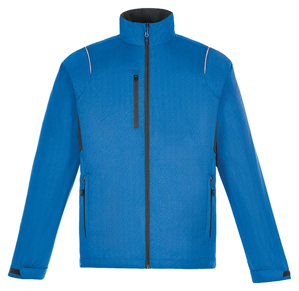 XX-Large Nauticl Blu North End Mens Lightweight Dobby Jacket With Print