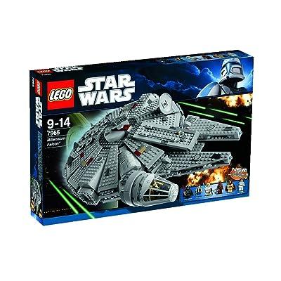 LEGO Star Wars Millennium Falcon w/ Darth Vader Luke Skywalker Han Solo | 7965: Toys & Games