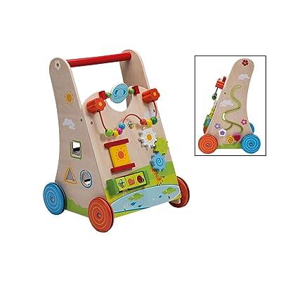 Jouéco - Mueble de Arrastre con Caja de Forma, 80044: Juguetes y juegos