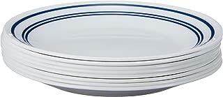 product image for Corelle Bread Plates, 8-Piece, Classic Café Blue