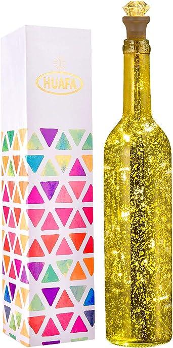 DEL bouteille Noël Lumière De Noël éclairage Noël lichtdeko