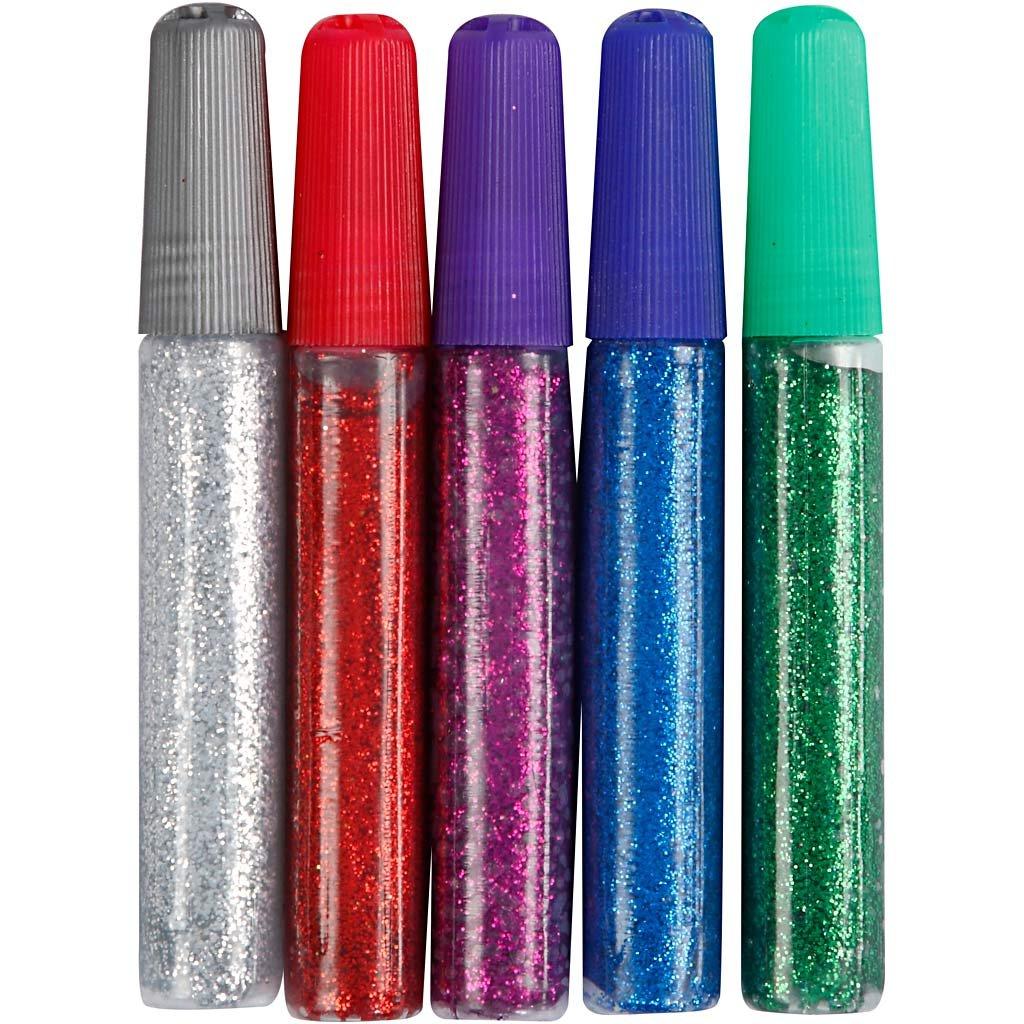 Colla glitter, , 5x10ml Creativ Company