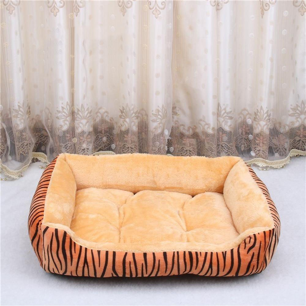 D 503815cm D 503815cm WUTOLUO Pet Bolster Dog Bed Comfort Arctic dog Bed dog cushion pet nest (color   D, Size   50  38  15cm)