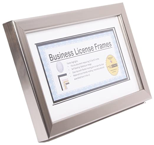 Fantastic Business License Frames Crest - Frames Ideas - ellisras.info