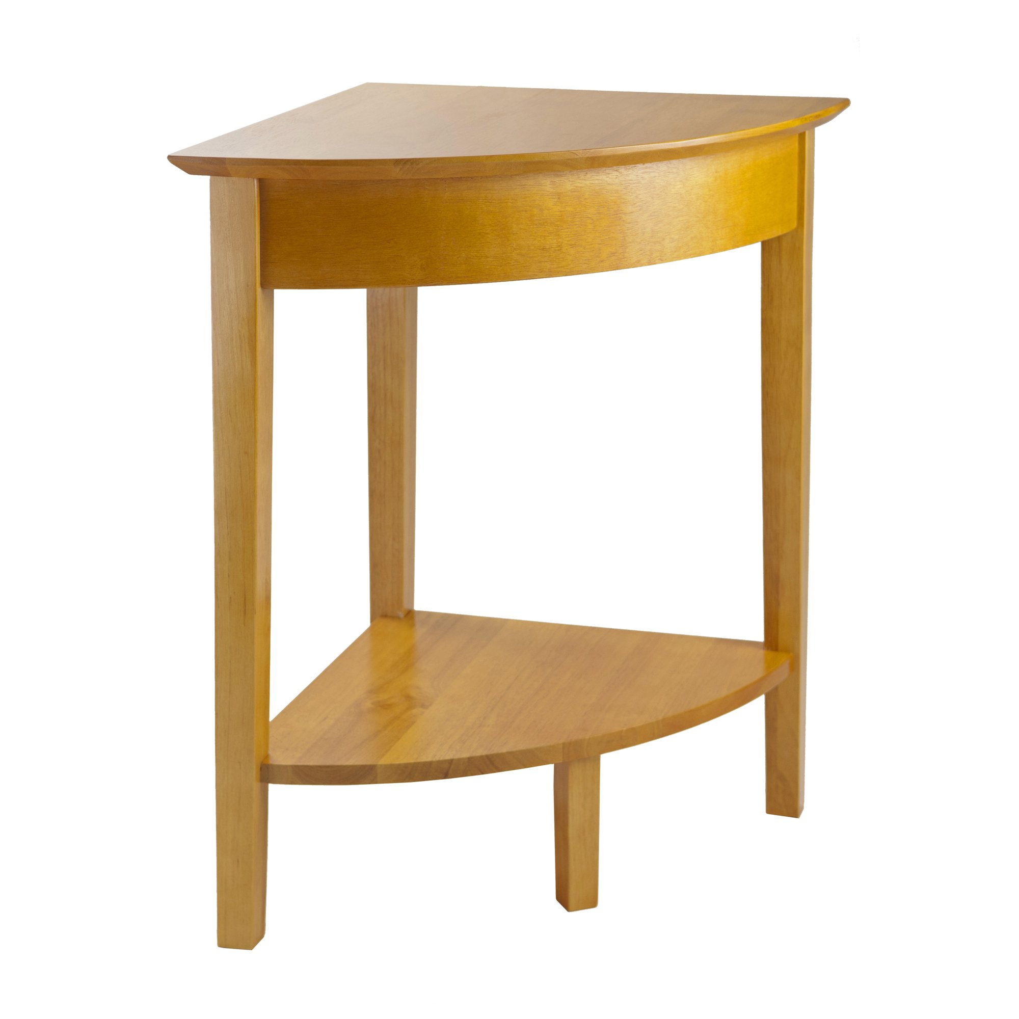 Winsome Wood Corner Desk with Shelf, Honey by Winsome Wood (Image #1)