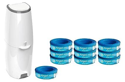 Angel Care® Cubo para pañales Comfort Plus Incluye 10 cubos ANGELCARE