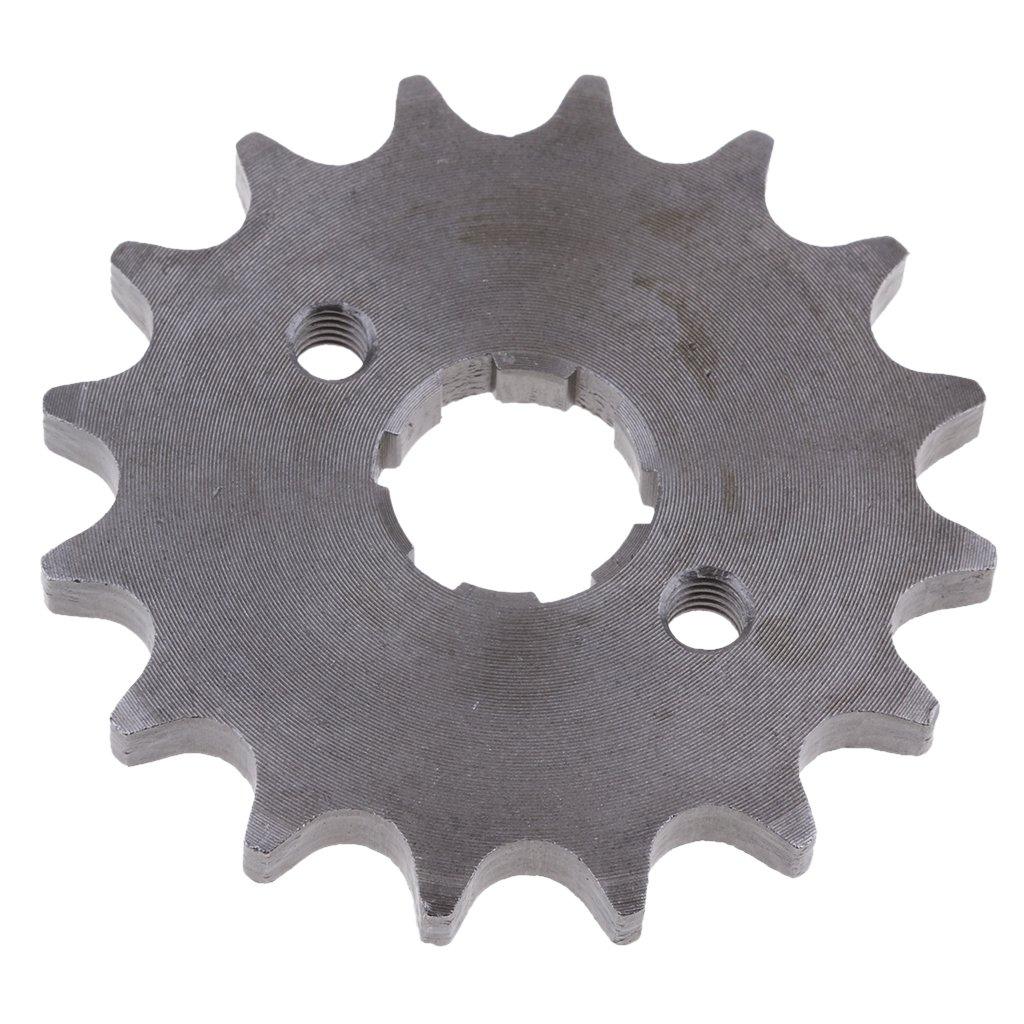 B Blesiya 2Pcs 16 18 Teeth 420 Chain Front Engine Sprocket Cog for 110 125 140cc Pit Dirt Bike