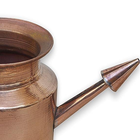 Neti Lota Ramjhara Gebet Kalash Reines Kupfer Hindu Pooja Artikel Topf