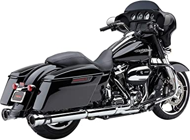 Cobra 909-Twins Slip-On Exhaust 17-19 HARLEY FLHX2 Raven Black