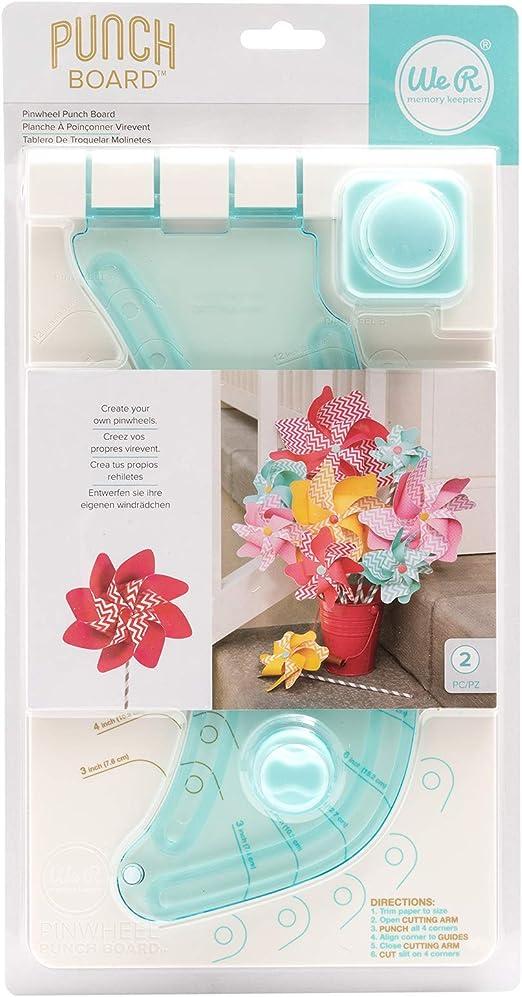 We R Memory Keepers Base para Molinillos Pinwheel Punch Board, Multicolor: Amazon.es: Hogar
