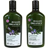 Avalon Organics Rosemary Volumizing Shampoo & Conditioner, 11 oz each