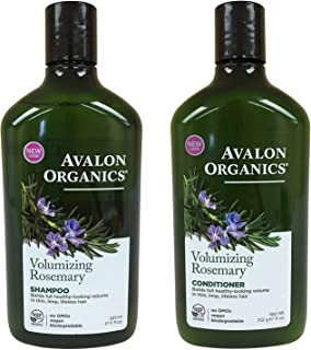 product image for Avalon Organics Rosemary Volumizing Shampoo & Conditioner, 11 oz each