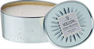 product image for Voluspa Casa Pacifica 2 Wick Oval Tin Candle, 12 Ounces