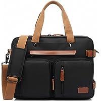 ARLRICH Convertible Backpack Messenger Bag Shoulder Bag Laptop Case Handbag Business Briefcase Multi-Functional Travel…