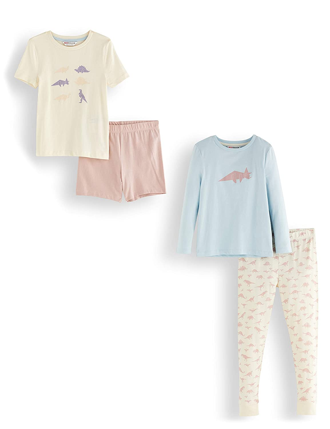 Pack of 2 Brand RED WAGON Girls Cotton Pyjama Set