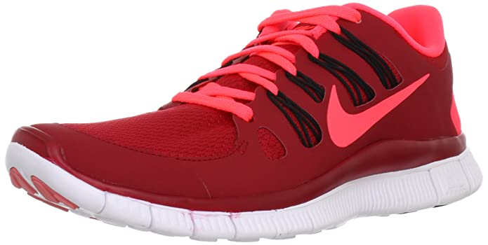 Amazon.com   Nike Men s Free 5.0+ Breathe Running Gym Red   Black   Atomic  Red Synthetic Shoe - 11 D(M) US   Road Running 268cef028479