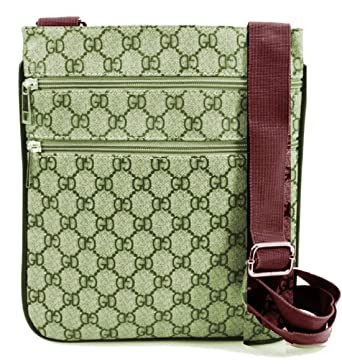 1ddb9e41daa0 Gossip Girl - Designer Check Checkered Unisex Man Bag Saddle Cross Body  Messenger Record Bag Travel