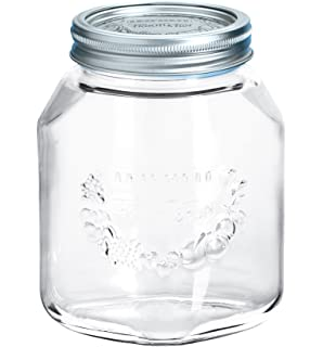 Leifheit Einkochglas Einmachglas Marmeladenglas Glas 0.75 L 36203