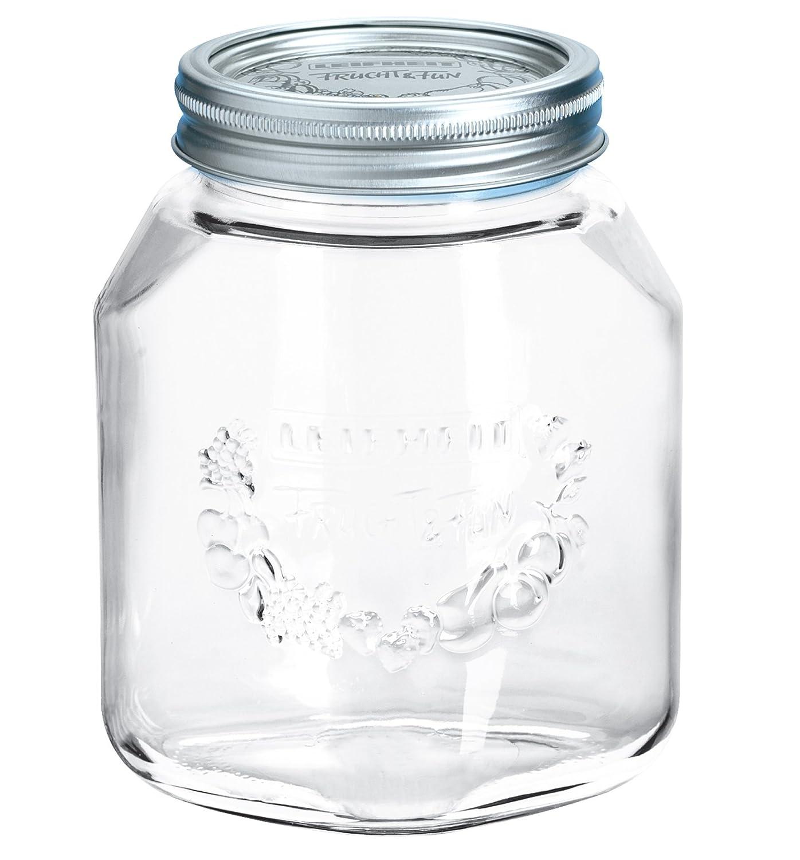 Leifheit - 36303 - Bocal de Conservation Verre - 1 litre
