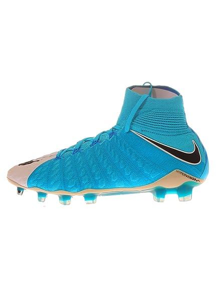 5f410907191a5 Nike Hypervenom Phantom III DF FG Mens Football Boots 860643 Soccer Cleats  (uk 8 us 9 eu 42.5, white photo blue 104): Amazon.co.uk: Shoes & Bags