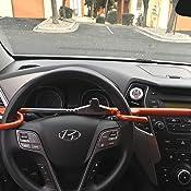 Amazon.com: Bastón de seguridad para volante modelo ...