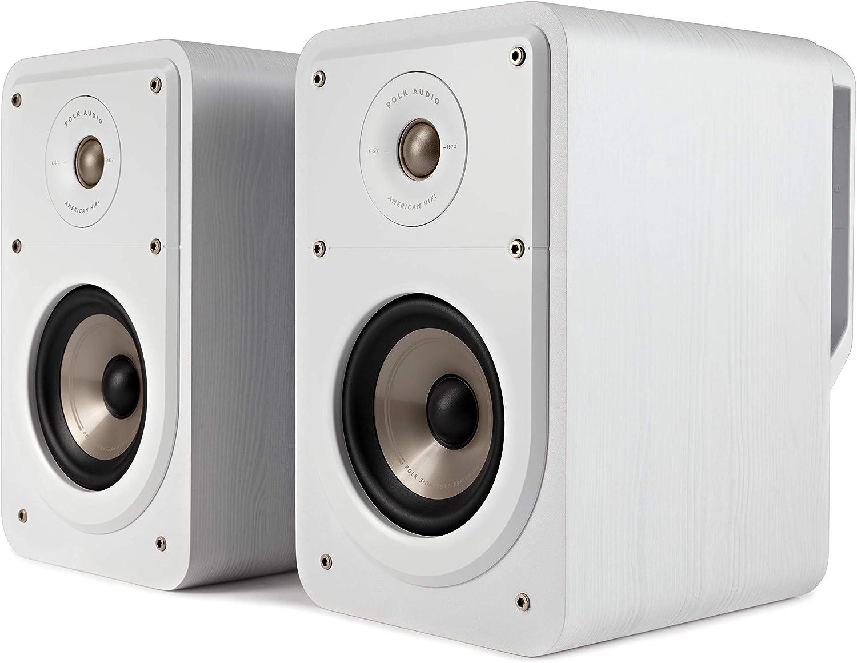 Polk Audio Signature S15e Regallautsprecher Stereo Lautsprecher Hifi Lautsprecher Für Musik Und Heimkino Sound Passiver Full Range Lautsprecher 20 100 Watt 8 Ohm High Res 48hz 40khz Paar Audio Hifi