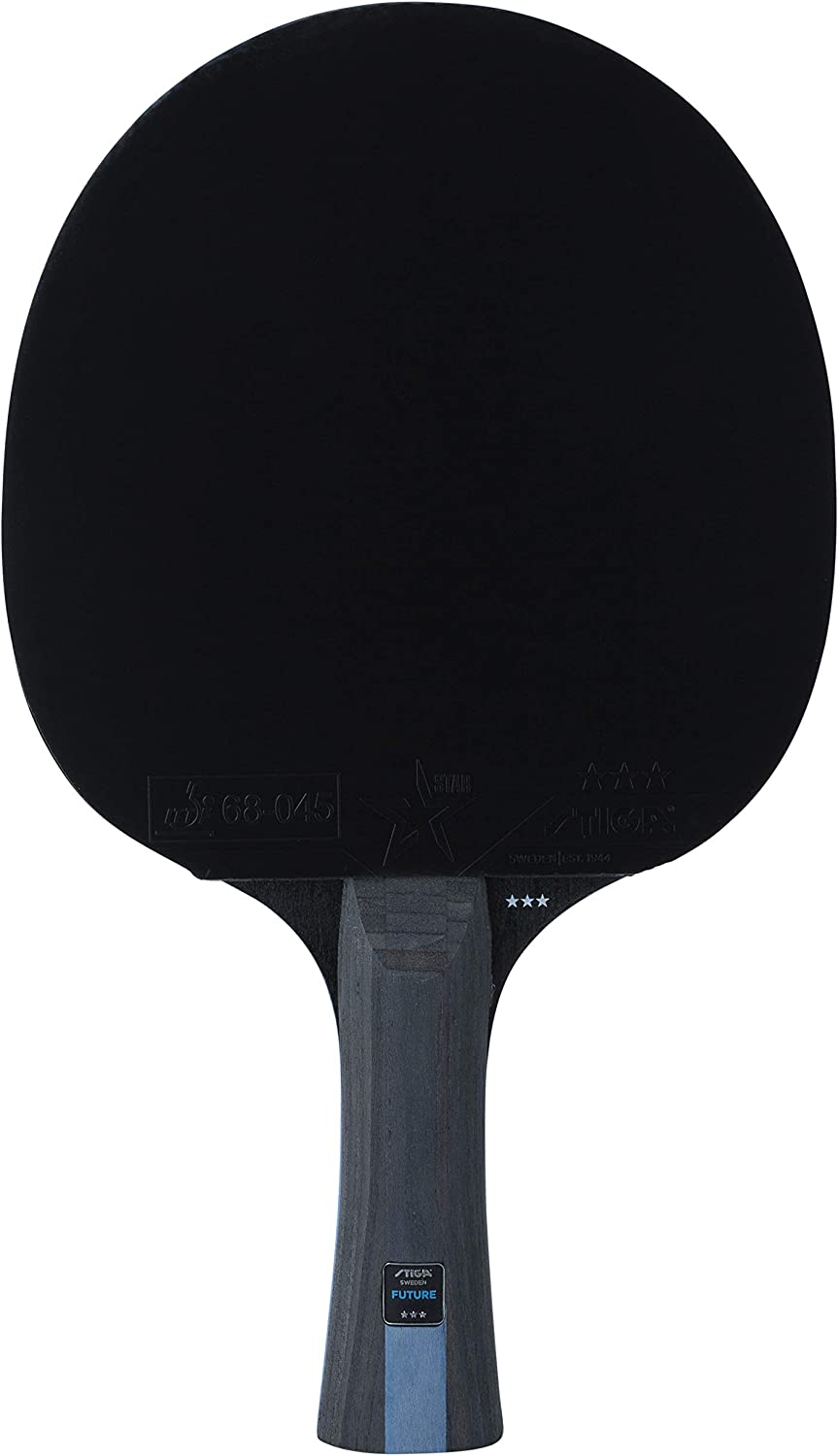 STIGA 3-Star Future Palas de Ping Pong, Unisex-Adult, Black/Red, One Size